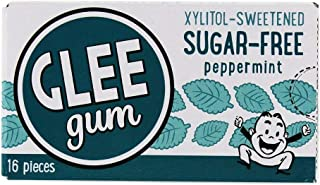 product image for Glee Gum Sugar Free Yum! Natural Gum Refresh Mint - 16 Pieces
