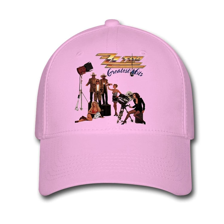 Woman Men Cotton ZZ Top Band Poster Adjustable hats Baseball caps