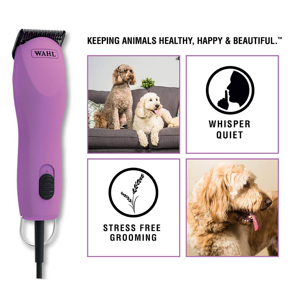 Wahl Professional Animal Pink Thick Coat Pet Clipper & Dog Clipper (#9787-300) by Wahl Professional Animal (Image #2)