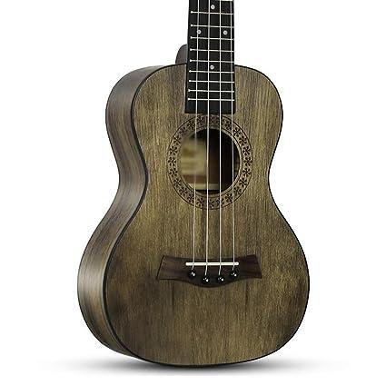 Santonliso 23 pulgadas ukelele ukelele uklele caoba guitarra ...