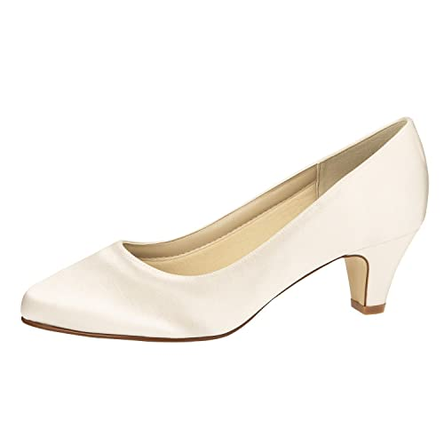 Rainbow Club Megan Wedding Shoes Off White Size: 3.5