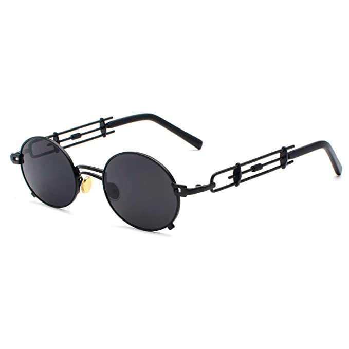 Cvoo Personalise Women Men Sunglasses Gothic Steam Punk Style Uv400