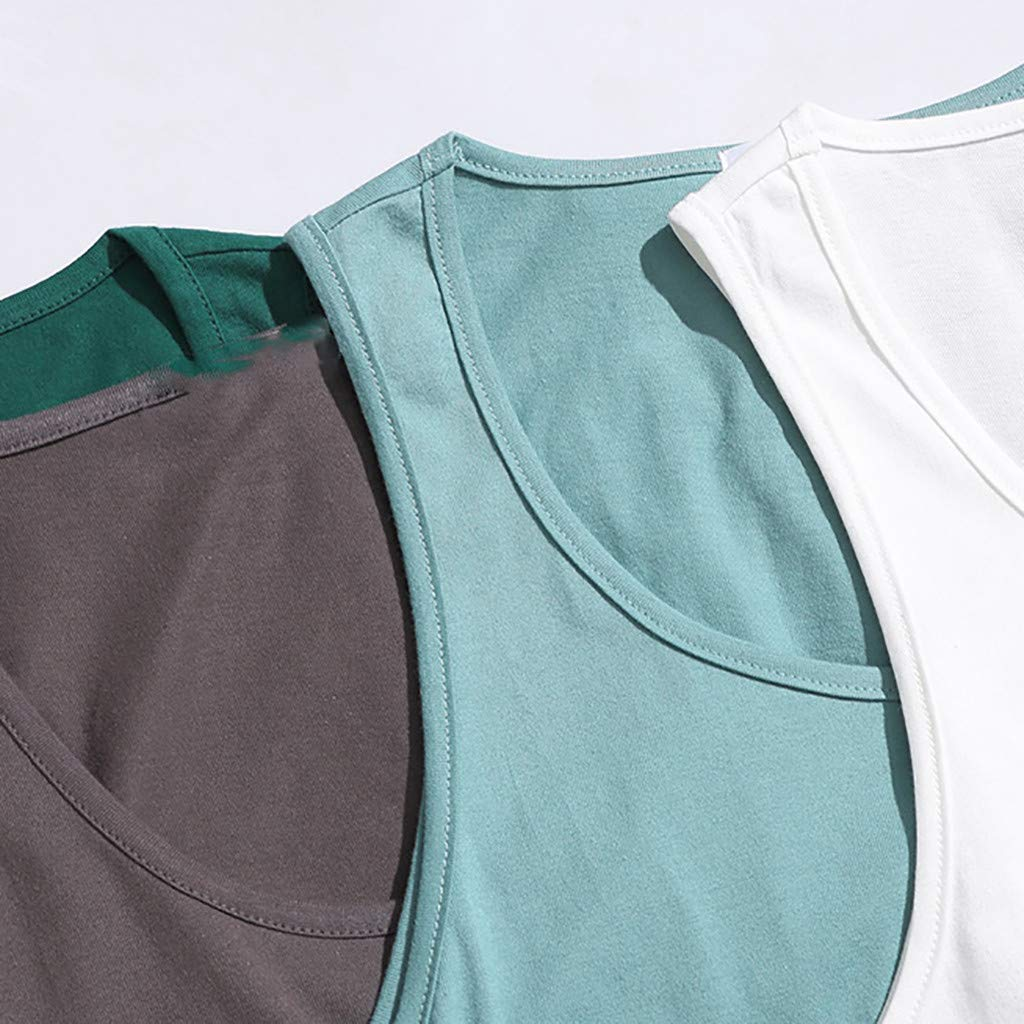 Oyedens Design for Men,Mens Summer Fashion Quick-Drying Sports Vest Comfortable Blouse Tops