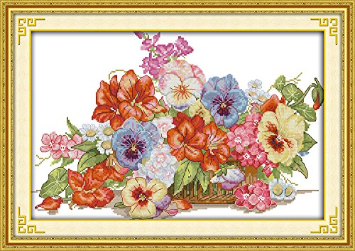 CaptainCrafts New Cross Stitch Kits Patterns Embroidery Kit
