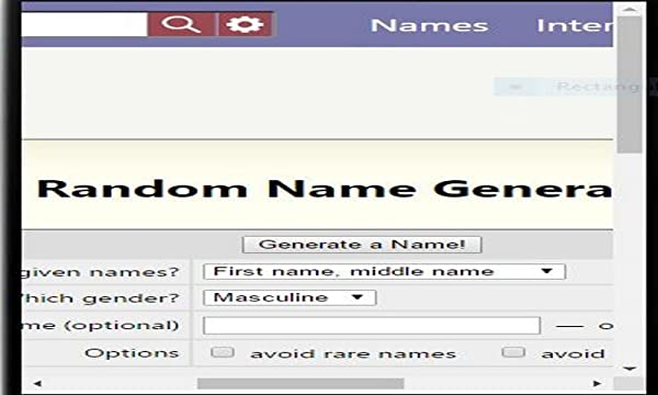 name generator amazon mobile apps