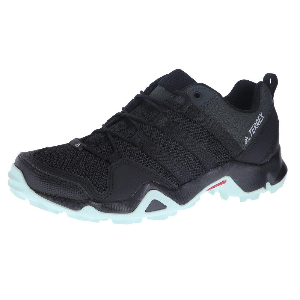 adidas outdoor Terrex AX2R Hiking Shoe - Women's Black/Black/Ash Green, 9.5