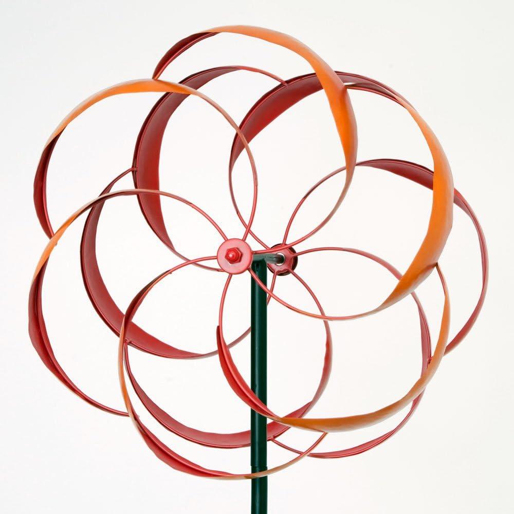 "48/"" Weather-Resistant Obelisk Wind Spinner Garden Sculpture Bits and Pieces"