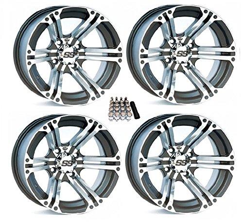 Ss212 Tire Wheel Kit - ITP SS212 UTV Wheels/Rims Machined 14
