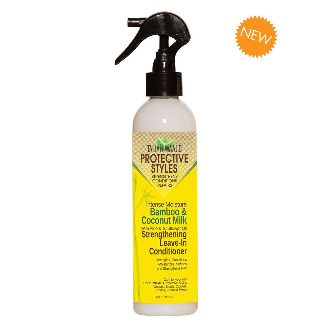 Taliah Waajid Protective Styles Bamboo and Coconut Milk Leave-in Conditioner