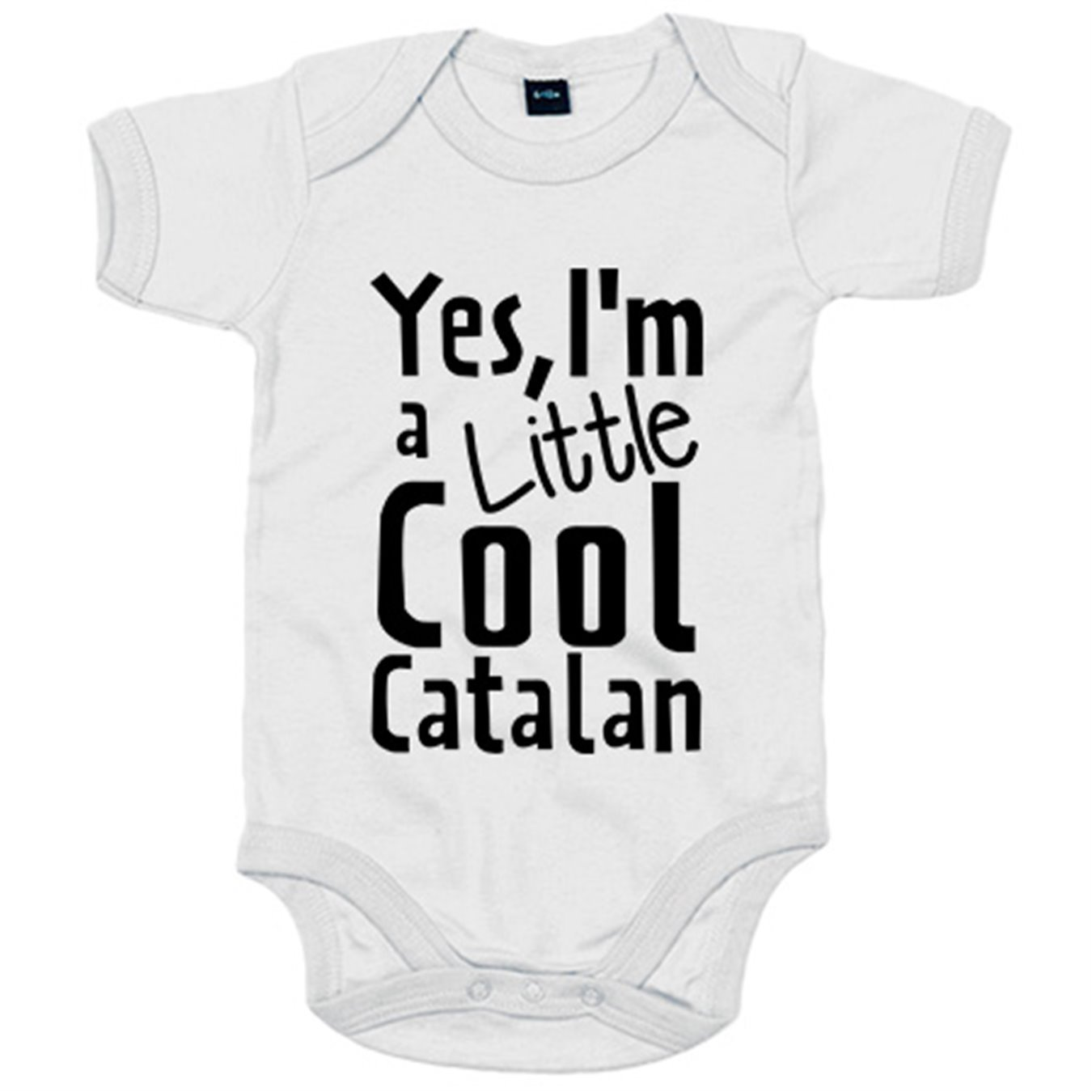 Body bebé yes I Am A Little Cool Catalan - Amarillo, 6-12 ...