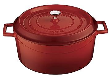 Lava Cookware Redondas - Ramequín de Hierro Fundido, Hierro ...