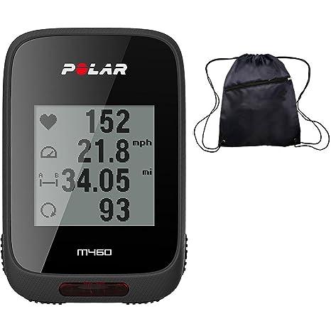 Amazon com: Polar M460 GPS Bike Computer with Heart Rate