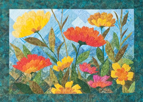 Summer Blooms Quilt Pattern By 4th & 6th Desgins (Barbara Persing and Mary Hoover)