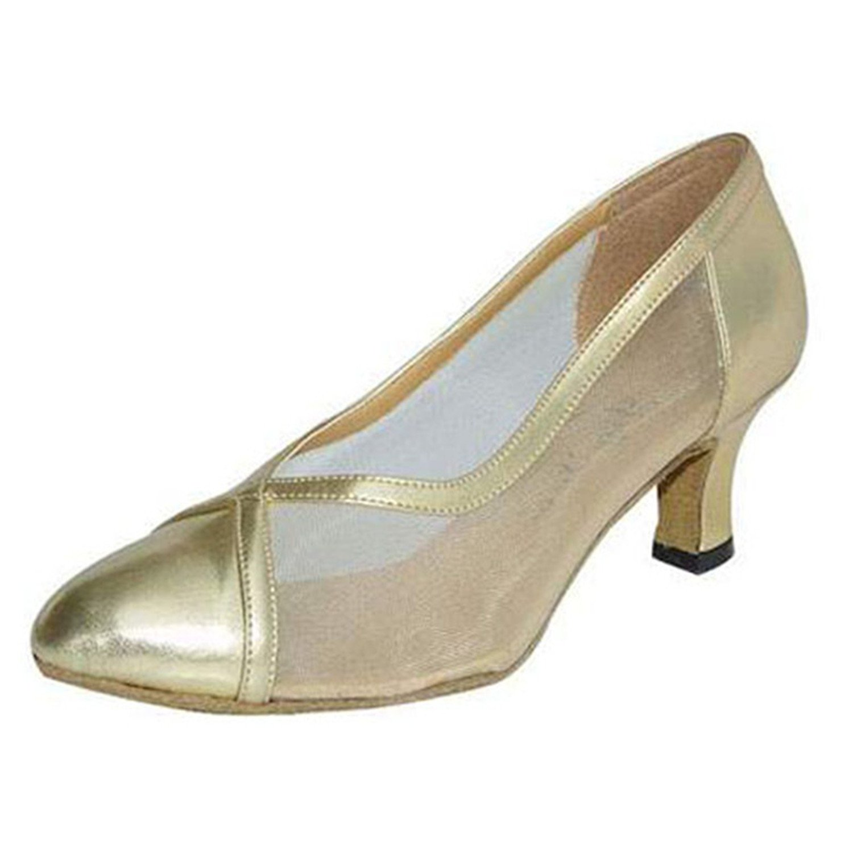 - LEIT YFF Cadeaux Femmes Dance Danse Danse Latine Dance Tango Chaussures 6CM,oren,38