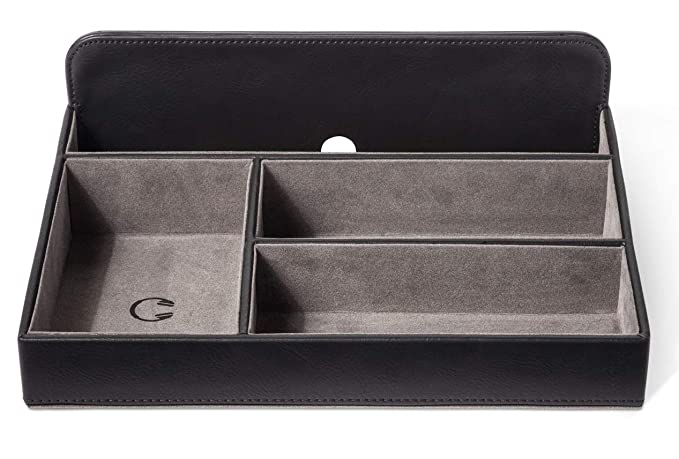 6cd8eb8896ba Valet Tray Charging Station for Apple Android devices   Accessories.Desk  dresser bedside stand tabletop