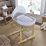 clair de Lune Speckles Palm Moses Basket (Grey)