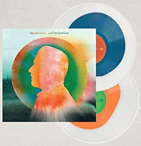 A Pill For Loneliness - Exclusive Limited Edition Tangerine In Clear & Blue In Clear Colored 2x Vinyl LP #/500
