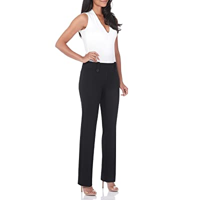 Rekucci Women's Smart Desk to Dinner Stretch Bootcut Pant w/Tummy Control at Women's Clothing store