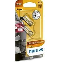 Philips 12961B2 Vision - Bombilla W5W para indicadores