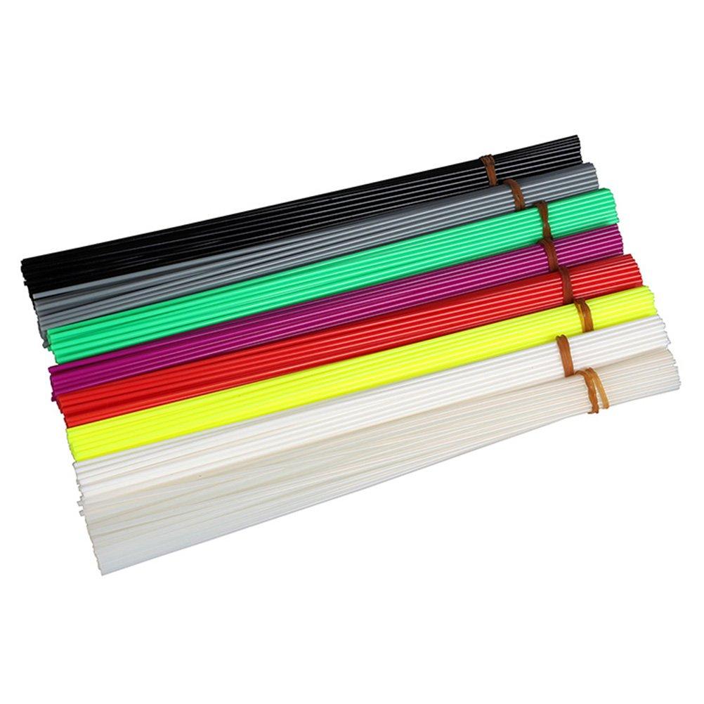 Tinksky 320pcs 20cm Filament 1.75mm PLA Plastic Bar Refill for 3D Printer Pen (8 Colors) by TINKSKY (Image #3)