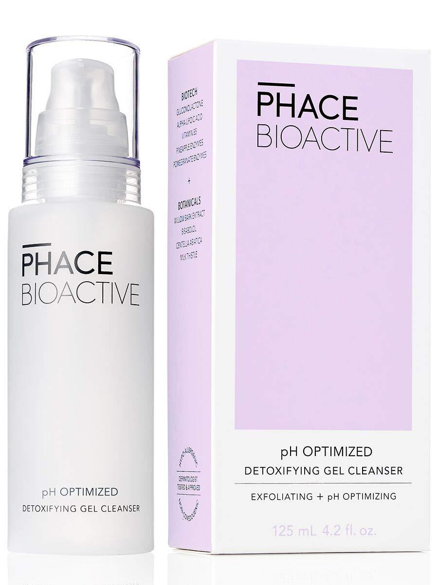 PHACE BIOACTIVE Detoxifying Gel Cleanser, 4.2 Fl Oz