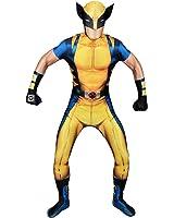 Morphsuits - Disfraz Wolverine, Multicolor (delux digital), talla L (161cm-177cm)