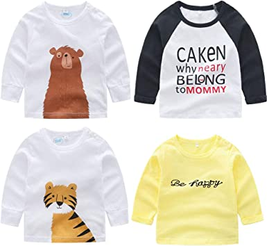 YUN HAO Girls Clothes Set Long Sleeve T-Shirt and Pants 2pcs Outfits