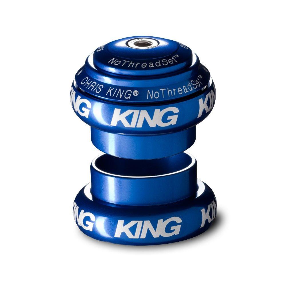 CHRIS KING(クリスキング) ヘッドセット NOTHREADSET 1(STD) ノースレッドセット ネイビー(白ロゴ) HSA1N B079Q1G2GH