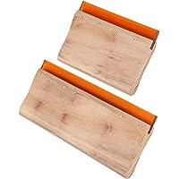 distincty 2 stuks zeefdrukrakel hout zeefdruk verfschraper voor zeefdruk