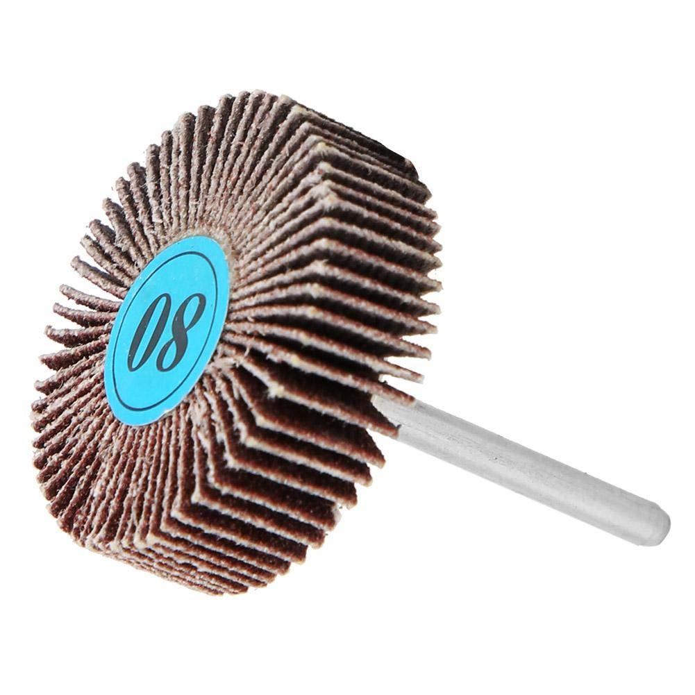 Sanding Paper Flap Wheel Disc,Sandpaper Polishing Wheel for Drills Electric Grinder Rotary Tool 10pcs Sanding Flap Wheel