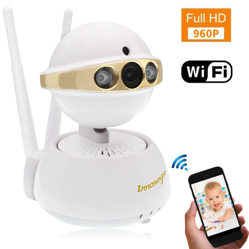 IP Camera, Innosinpo 960P Indoor Wireless Security Surveillance Camera Home Baby Pet Monitor with Pan/Tilt Night Vision Motion Detection Alerts Two-Way Audio and Remote Viewing