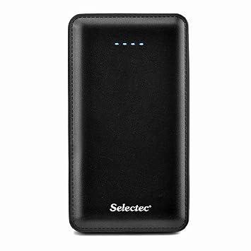 SELECTEC 10000mAh Batería Externa Universal 2 puerto USB 5V / 2.1A. Power Bank Cargador Portátil Banco de la Energía para iPhone, iPad, iPod, Samsung, ...