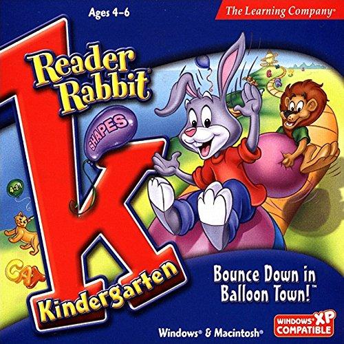 Reader Rabbit Kindergarten - Bounce Down in Balloon Town!