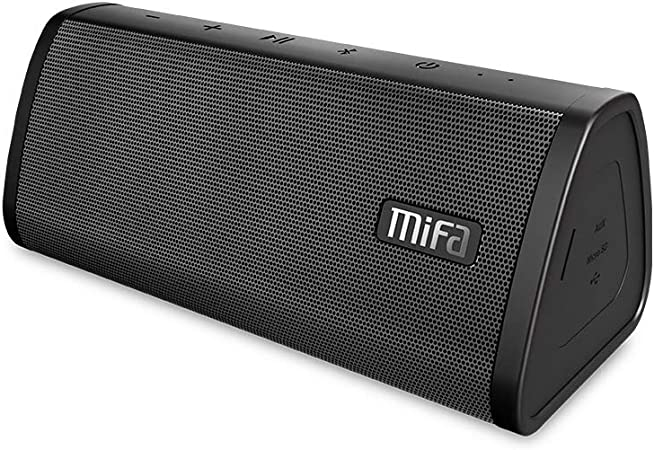 Amazon Com Bluetooth Speaker Mifa A10 Wireless Portable Tws Speaker V4 2 16 Hour Playtime 10w Hd Stereo Bass Ip45 Dustproof Water Resistant Micro Sd Card Slot Built In Mic For Hands Free Call Electronics