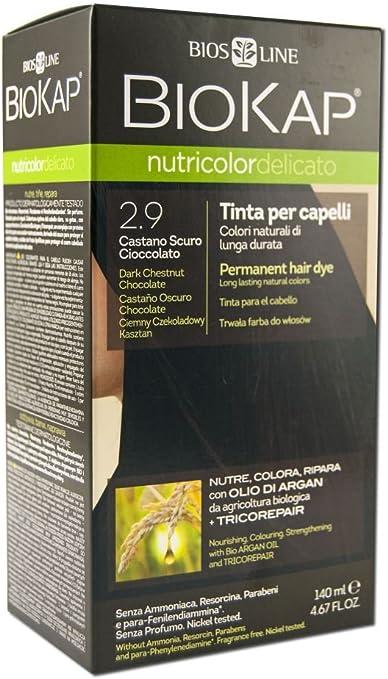 Biokap Tinte Castaño Oscuro Chocolate 140 ml 2.9 Delicato 140 ml