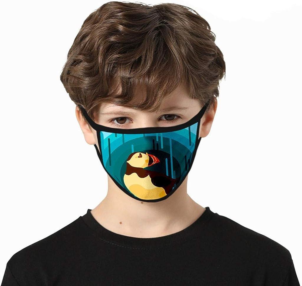 Cardi 3 St/ück Kinder Gedruckt Staubdicht Smog-Proof Gewaschen Wiederverwendbare Baumwolle Mund-Nasen-Abdeckung