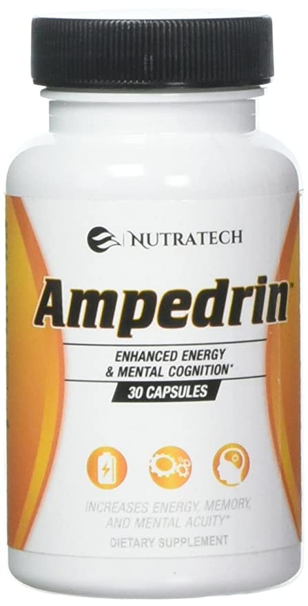 Buy Nutratech Ampedrin All Natural Brain Function And Energy