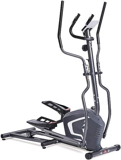 no bland Hogar Máquina Elíptica Entrenador elíptico de la Bicicleta estática con Asiento y fácil del Ordenador de Ministerio del Interior máquina de Fitness Entrenamiento Diseño Tranquila: Amazon.es: Deportes y aire libre