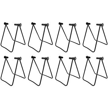 2 WELLGRO® Fahrradständer Hinterrad Montageständer Fahrrad Ständer Fahrradhalter