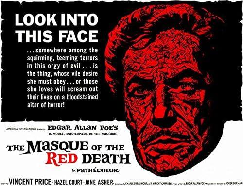 Amazon.com: La máscara de la muerte roja – 1964 – Póster de la ...