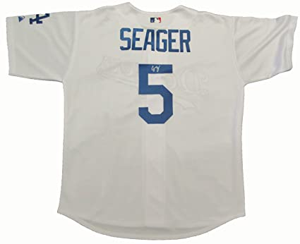 info for f25d1 61ea6 Corey Seager Autographed Los Angeles Dodgers Jersey W/PROOF ...