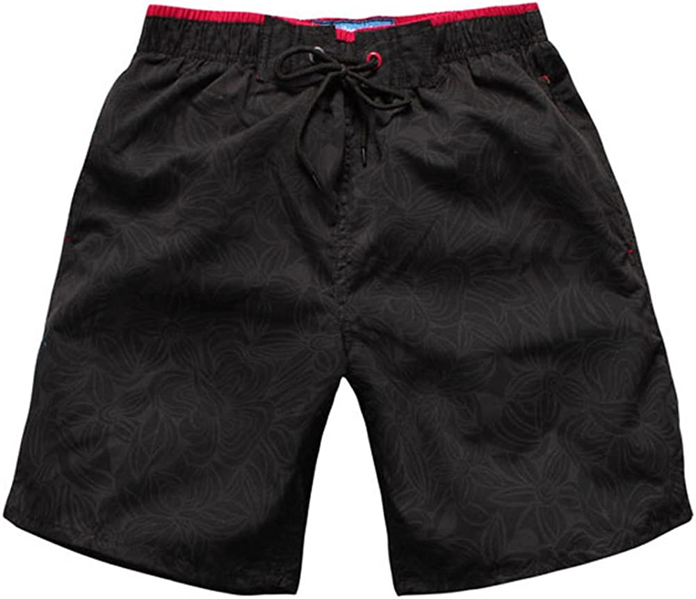 LlYT-TPL Quick-Drying Beach Pants Mens Shorts Leisure 5 Minutes of Pants