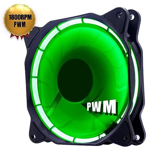 74 opinioni per uphere fantastic 120-LED Ventola di Raffreddamento da 120 mm, verde (Confezione