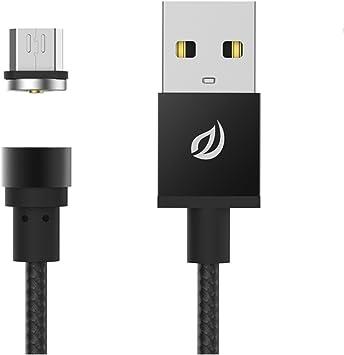 WSKEN redondo magnético Micro USB Cable de carga magnética ...