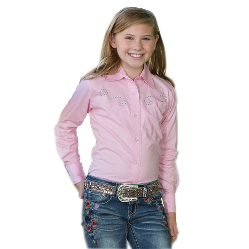 a4a27fa6 Amazon.com: Rod's Exclusive Sparkle Blouse for Girls: Clothing
