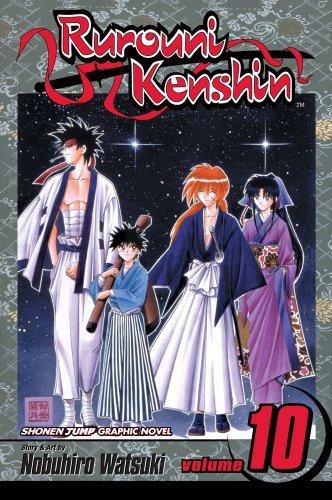 Rurouni Kenshin, Vol. 10: Mitsurugi, Master and Student
