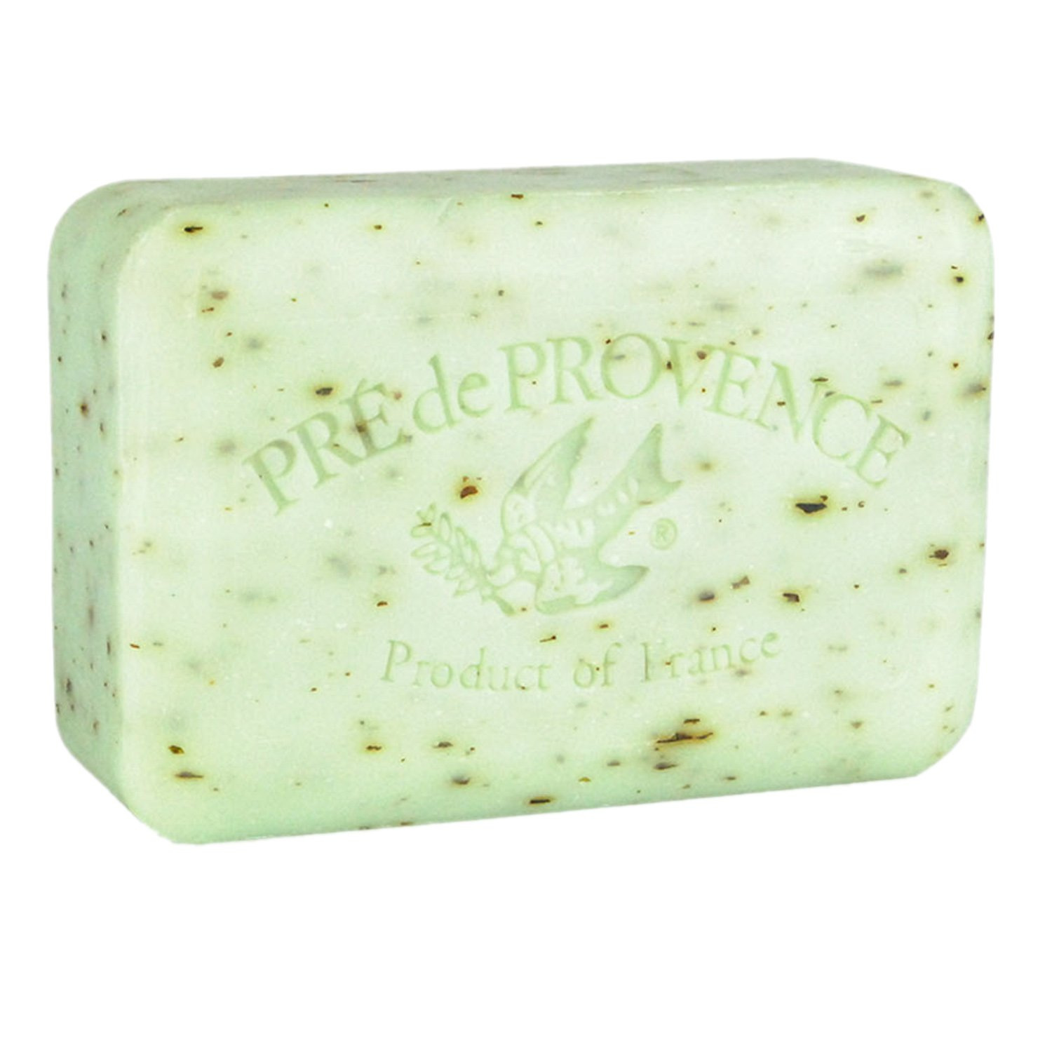 Pre de Provence Artisanal French Soap Bar Enriched with Shea Butter, Quad-Milled For A Smooth & Rich Lather (250 grams) - Rosemary Mint