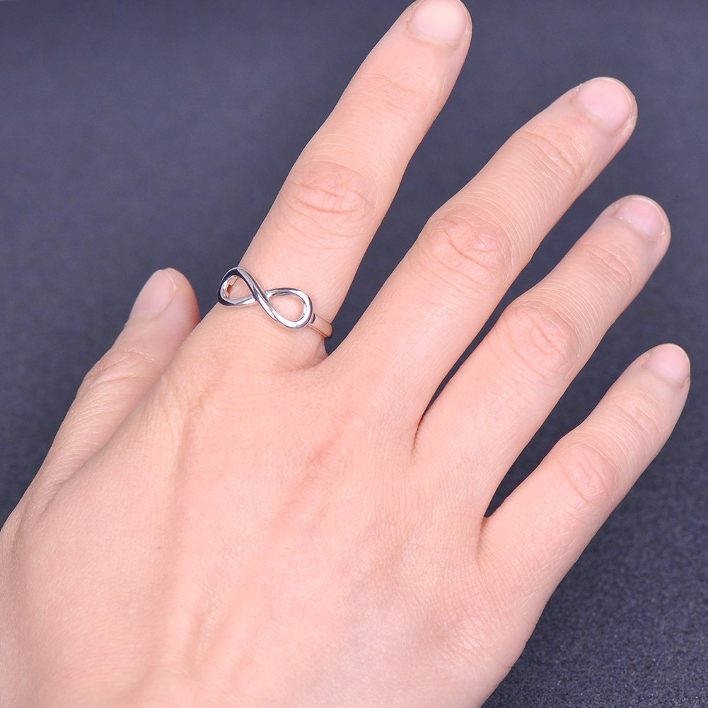 Amazon.com: Steing Silver Girl Best Friend Ring: Jewelry