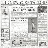 New York Tabloid Sandwich Basket Paper Liner - 12''Sq