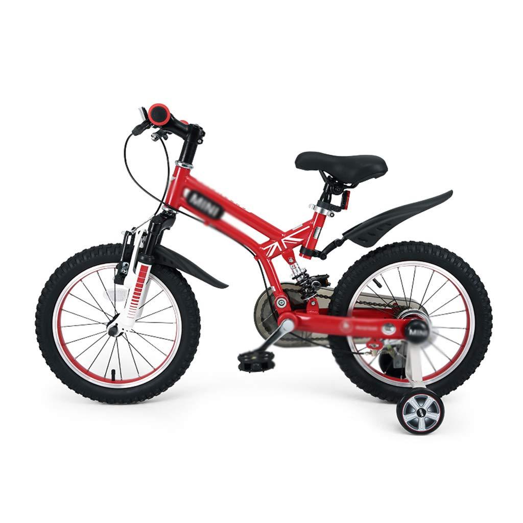 Bici per bambini Stabilizzatore smontabile Regolabile di Dimensione 16 della Bici della Bici della Ragazza del Ragazzo della Bici di Stile Libero della Bici